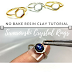 Easy Swarovski Crystal Resin Clay Ring Tutorial