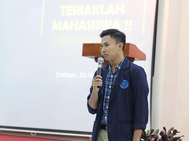 Atiatul Muqtadir Ketua BEM UGM - IGfathuurr_