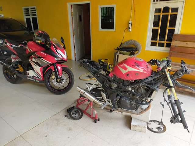 Modifikasi Byson Modif CBR250RR, Bodi Fiberglass Rapih !!!