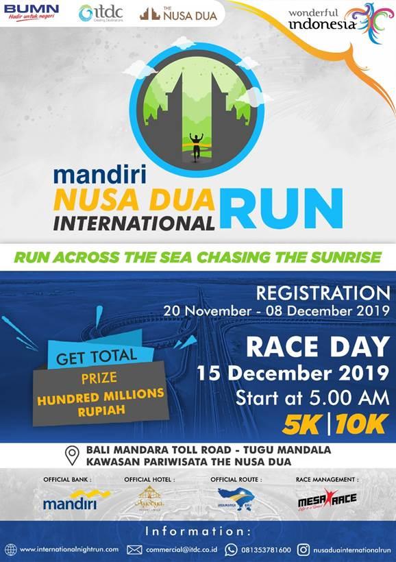 Nusa Dua International Run • 2019