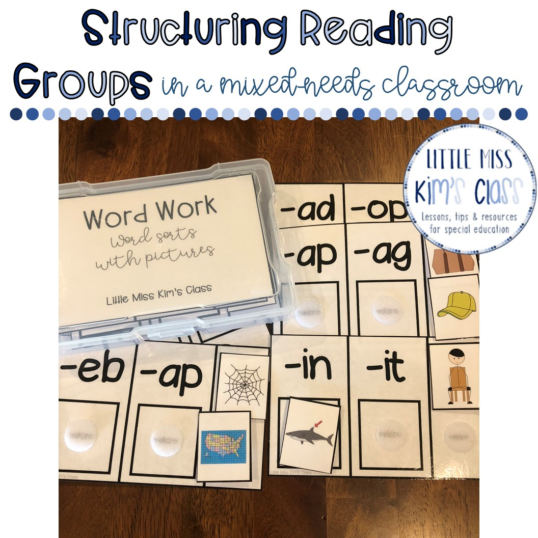 Little Miss Kim S Class Structuring Reading Groups In A