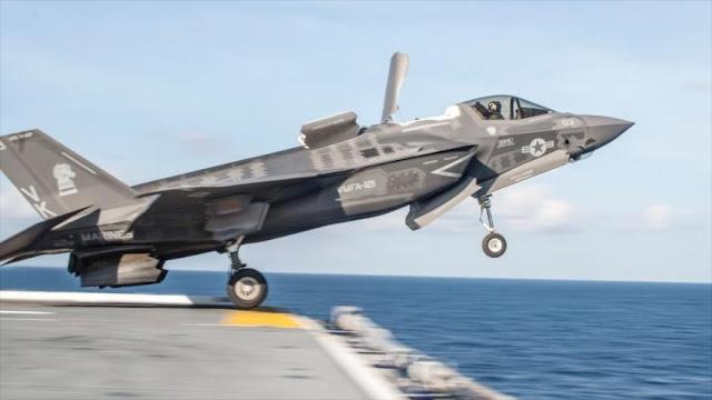 China advierte a Japón que no importe cazas F-35B a EEUU