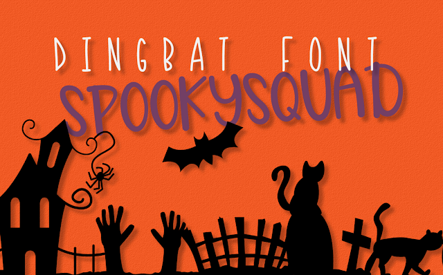 fall crafts, Silhouette fonts, Cricut fonts, halloween fonts, commercial use fonts