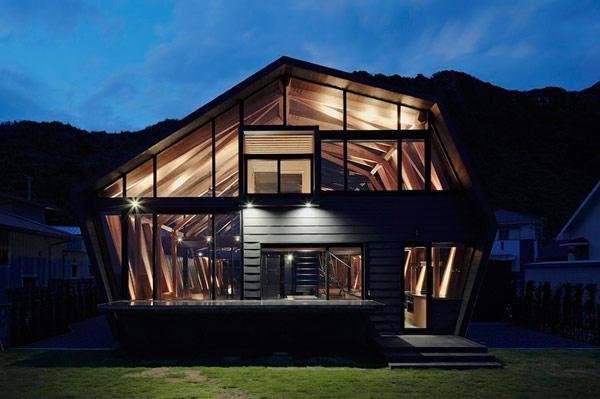 Diseno de casa moderna irregular dise o de casas home - Diseno casa moderna ...