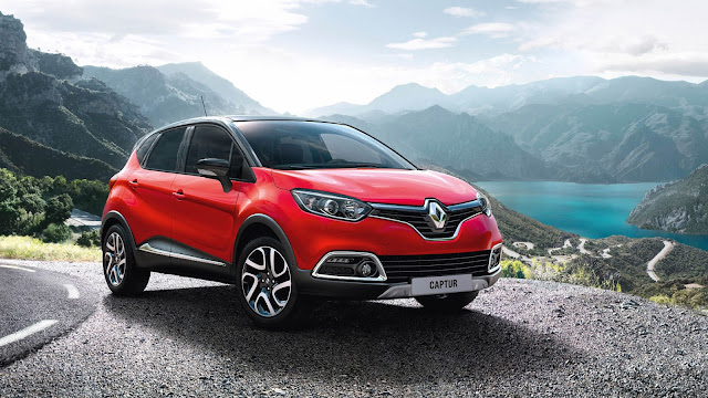 Renault Capture Crossover hd wallpaper