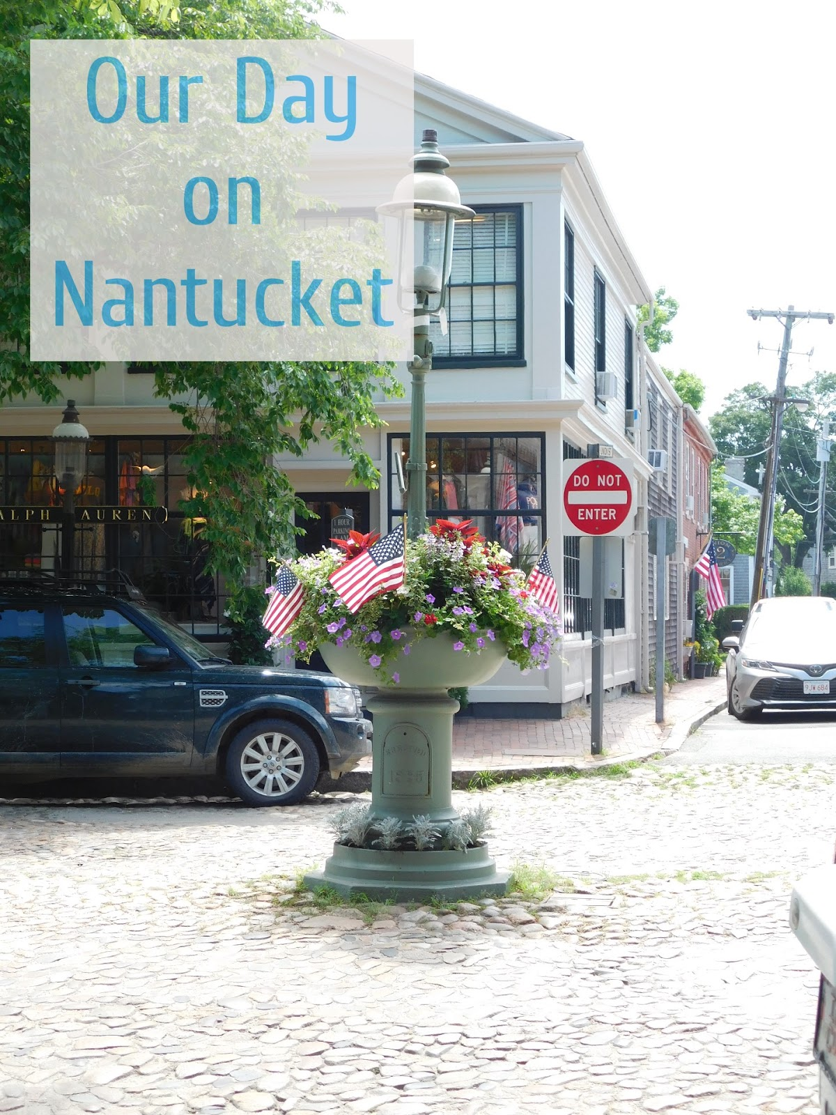Weekend Trip to Cape Cod and Nantucket-- Day 2