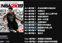 NBA 2K19 Cheat Engine Table v1 09 - NBA 2K MODS