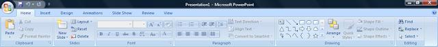 Microsoft Office Professional 2007 Ribbon