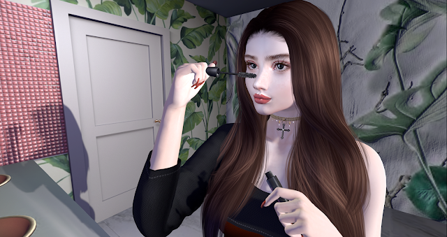 [SB] *Catwa* JuliaEarth Large Straight&CAZIMI: Coral Lips & Nails