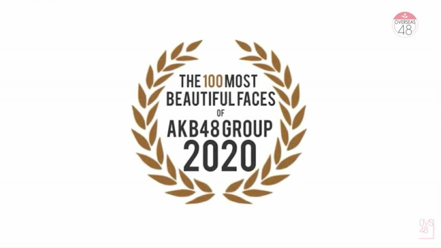 The 100 Most Beautiful Faces of AKB48 GROUP 2020