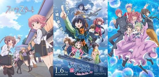 anime school comedy terbaru 2018 terbaik, paling bagus rating tertinggi romance