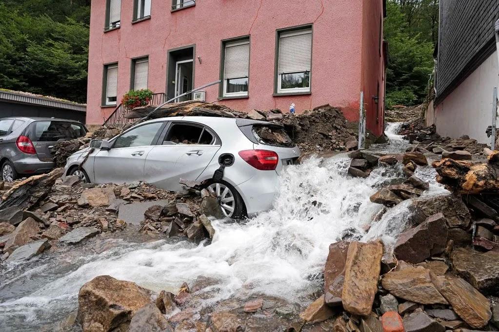 Inundaciones en Europa Occidental 180 muertos
