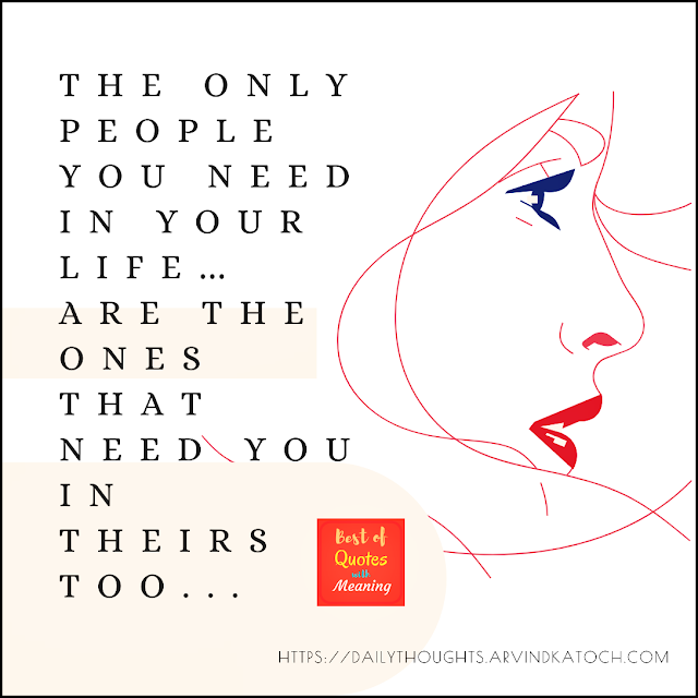 Daily Thought, Meaning, People