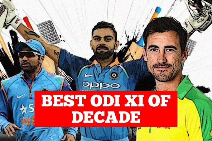ICC: 4 Indian players included in the best ODI team of the decade, See the team