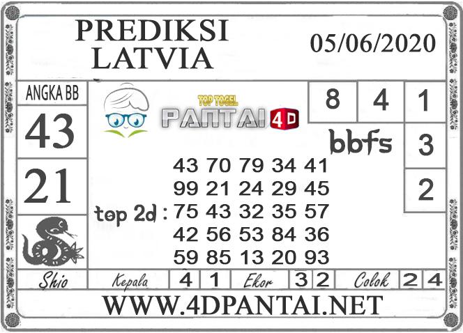 PREDIKSI TOGEL LATVIA PANTAI4D 05 JUNI 2020