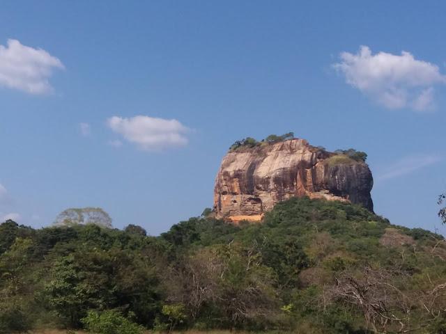 roca del leon sigiriya