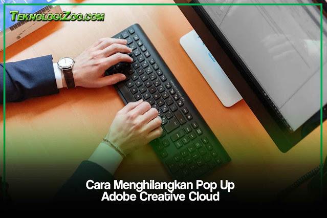 cara menghapus adobe creative cloud