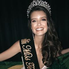 Giovanna Casagrande é cororada Miss Teen Earth 2019