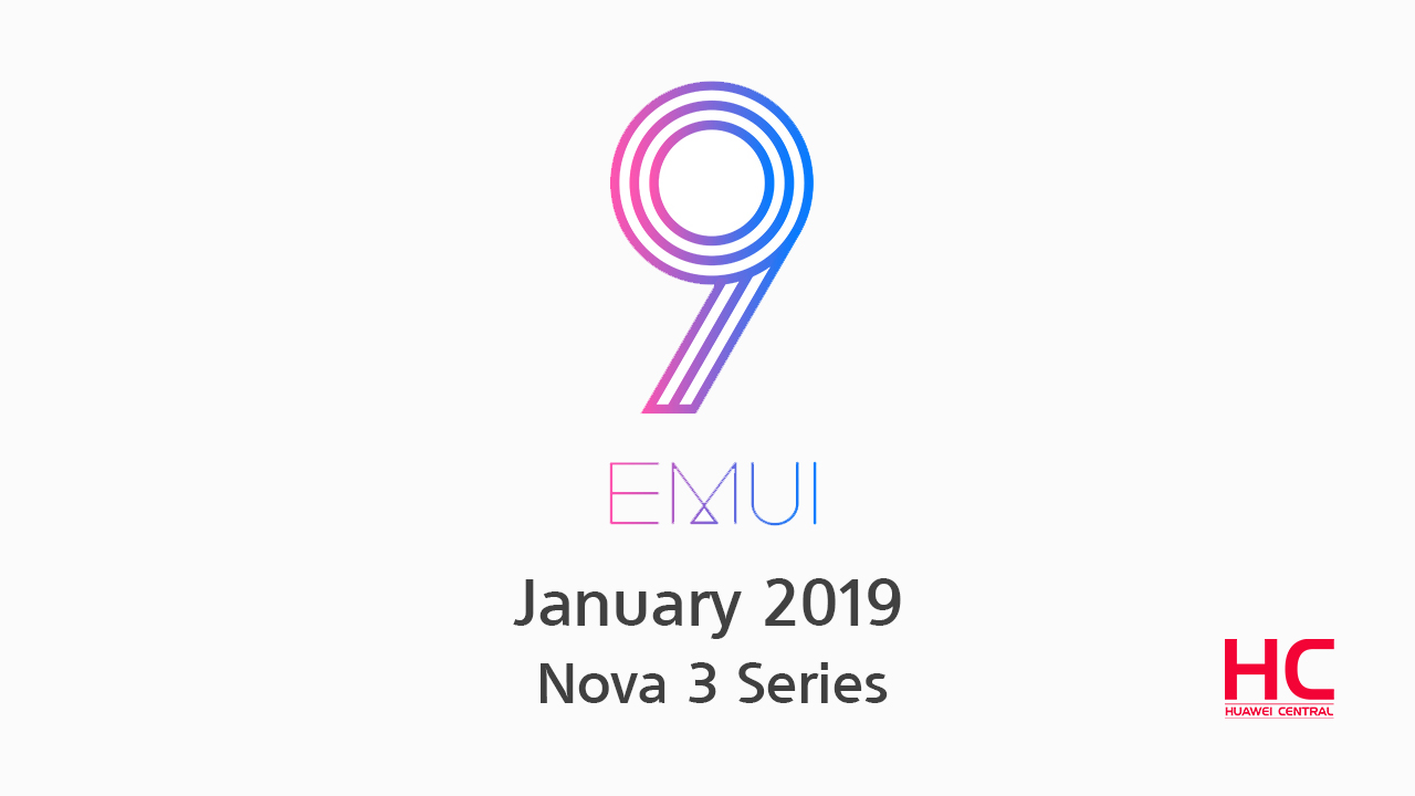 Huawei Releases Android Pie 9 Update For Nova 3i with EMUI