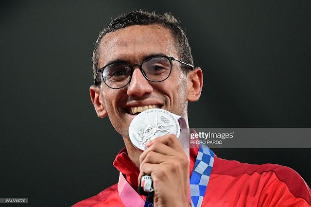 Ahmed El-Gendy and his Silver medal in Tokyo