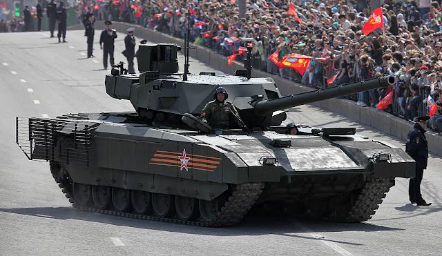 Rússia oferece o tanque T-14 Armata para exportação