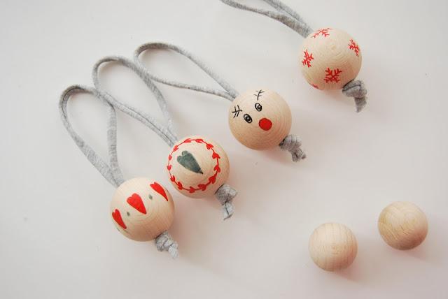 bolas de navidad estilo nordico tutorial