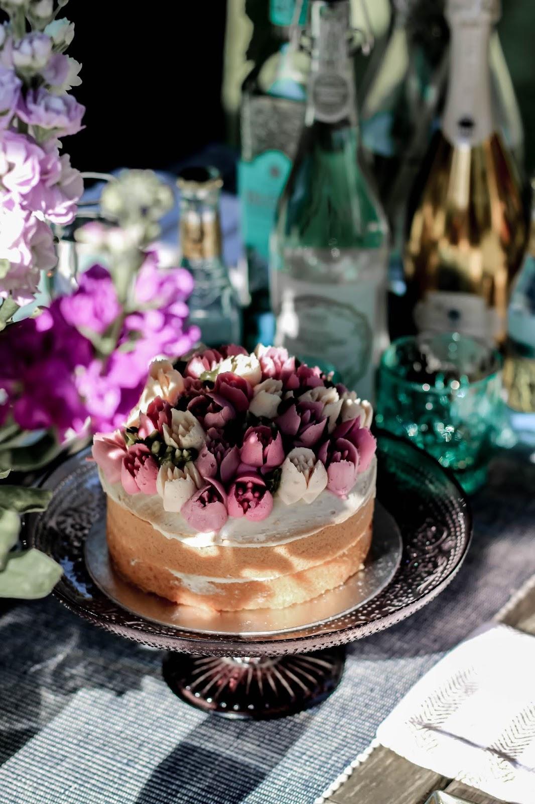 M&S Chelsea Flower Show Festival Cake