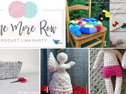 One More Row - Free Crochet Link Party #10