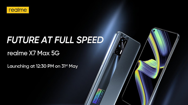 Realm X7 Max 5G launch officialy confirmed on 31st May at 12:30PM - Features, Specs, and Price | TechNeg