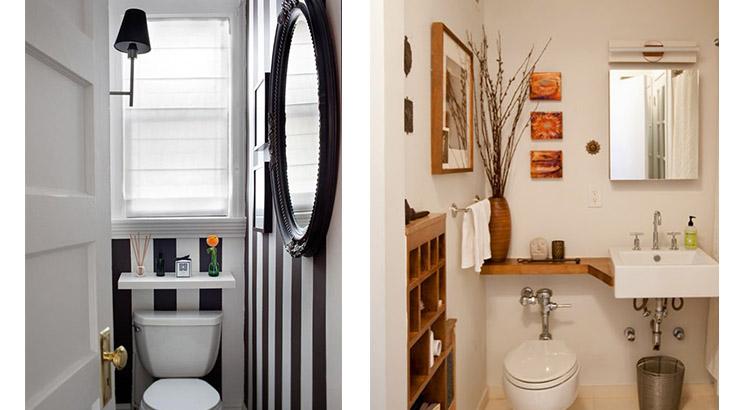 decoração para lavabos e banheiros