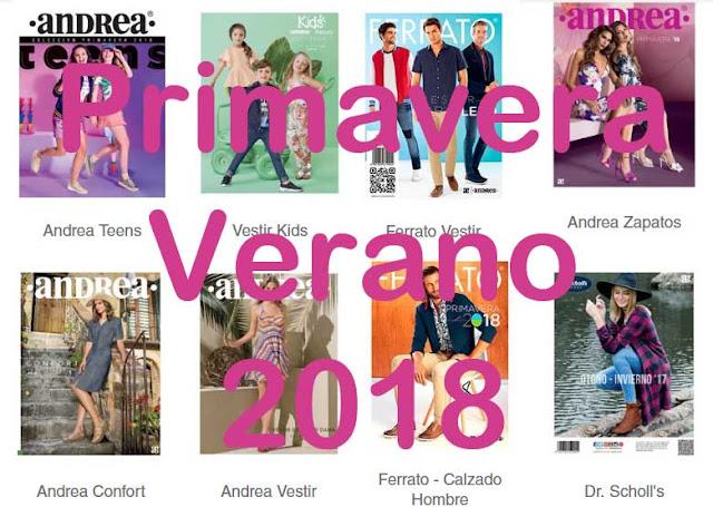 Catalogos digitales ANDREA Primavera Verano 2018 ( completo )