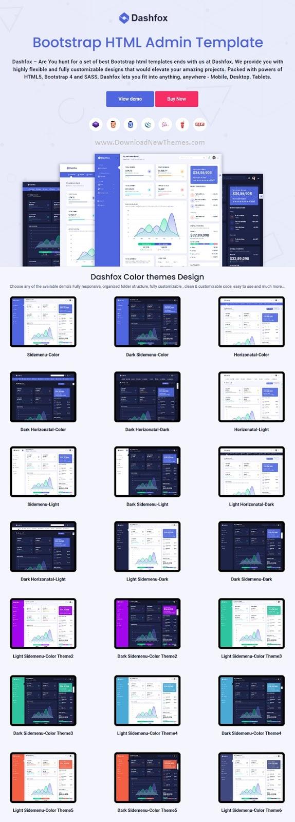 Best Responaive Admin Dashboard Template