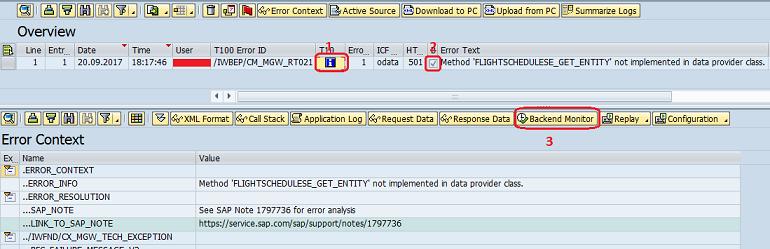 Debugging SAP Gateway Service - SAP ABAP,SAPUI5,SAP HANA,SAP