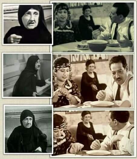 """الفنانة أمينة ذهني """"حماة الفنان نجيب الريحاني"""""""