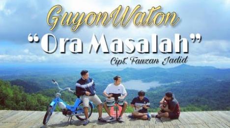 GuyonWaton, Lagu Cover, Download Lagu GuyonWaton Ora Masalah Mp3 Terbaru 2018,Kumpulan Lagu Cover GuyonWaton Mp3,Kumpulan Lagu GuyonWaton Mp3