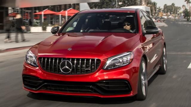 Mercedes Classe C 2020 design