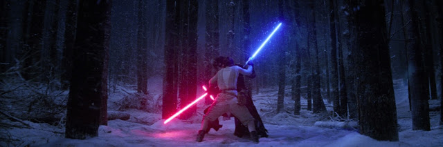 Thoughts on the duel between Rey and Kylo Ren - how did Rey win?