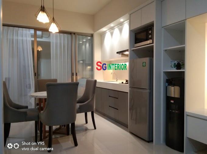 Desain Interior Apartemen Orange County 1 Bedroom Terbaru