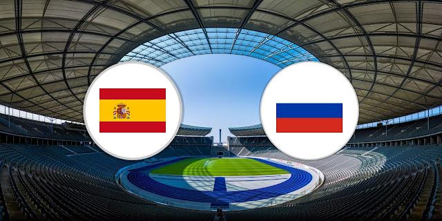 اسبانيا وروسيا بث مباشر