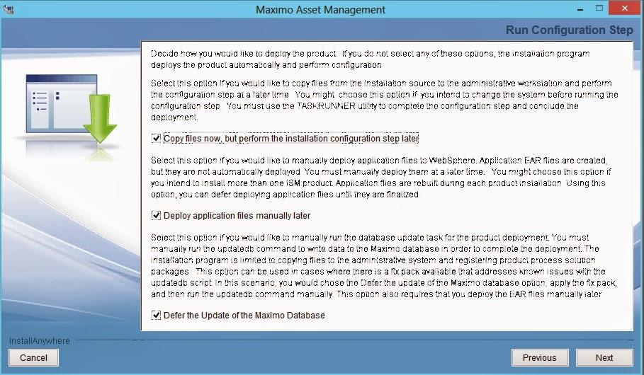 Win 2012 Maximo 75 CTGIN9077E: 部署引擎未適當運作。 請刪除 MWI 工作