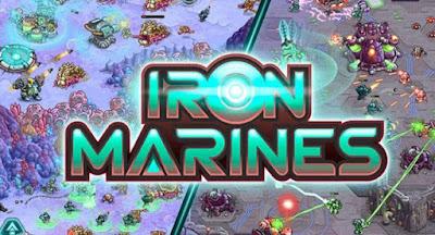 Iron Marines Apk + MOD Premium Heroes Unlocked + Data for Android