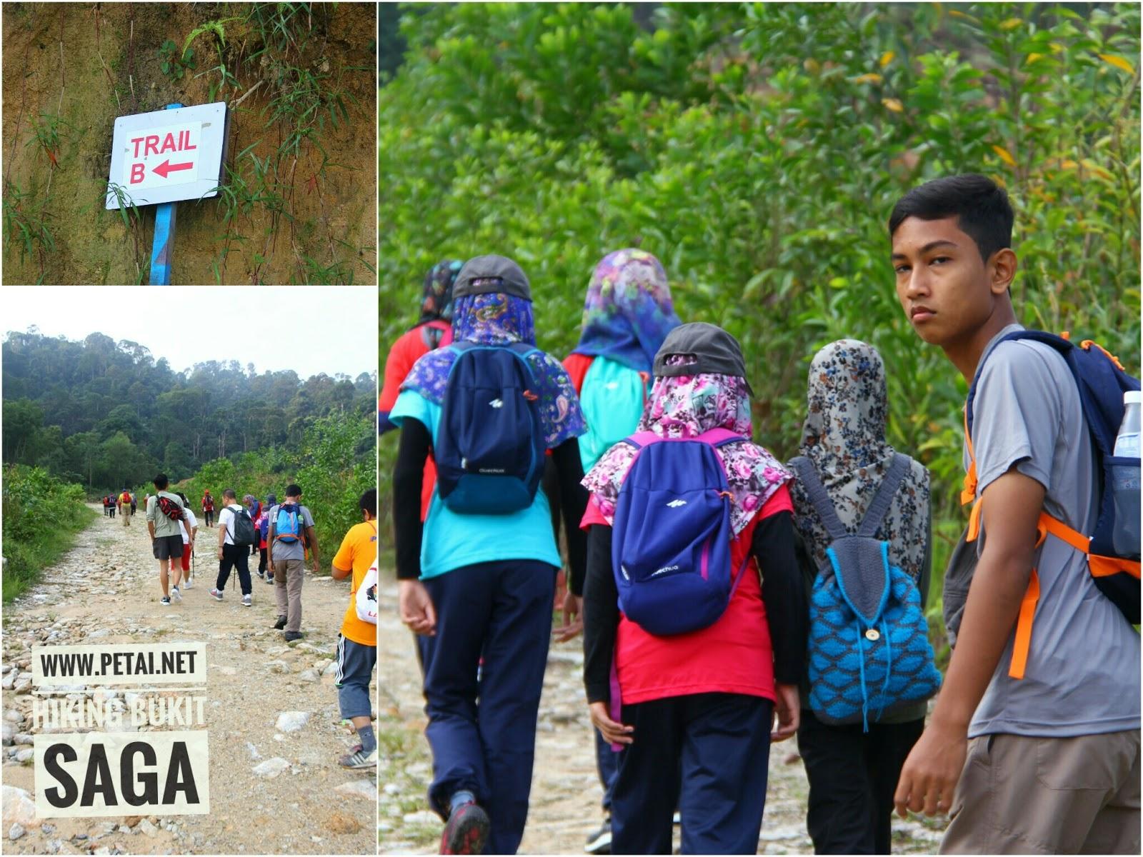 Trail B Bukit Saga