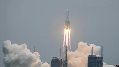 Roket China Mungkin akan Jatuh ke Bumi Akhir Pekan Ini
