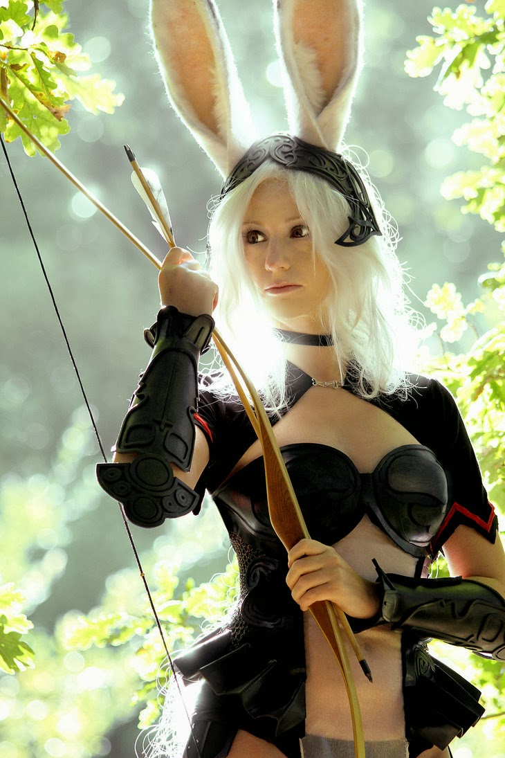 Final Fantasy Cosplay Eye-Catching Final Fantasy Xii Fran -5225