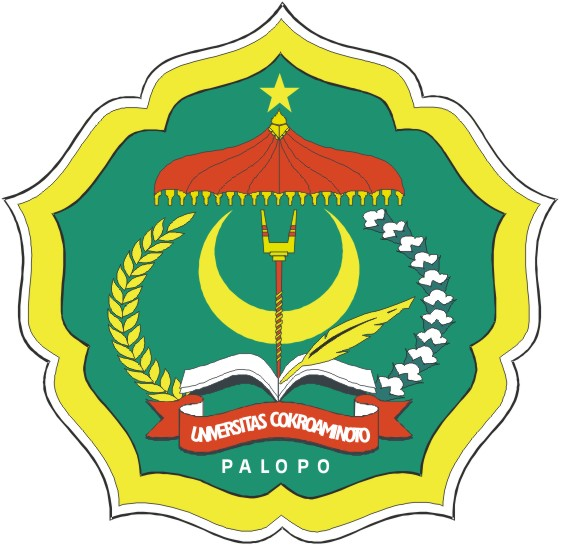 Bendera Dan Logo Universitas Cokroaminoto Palopo Uncp Tpb Uncp