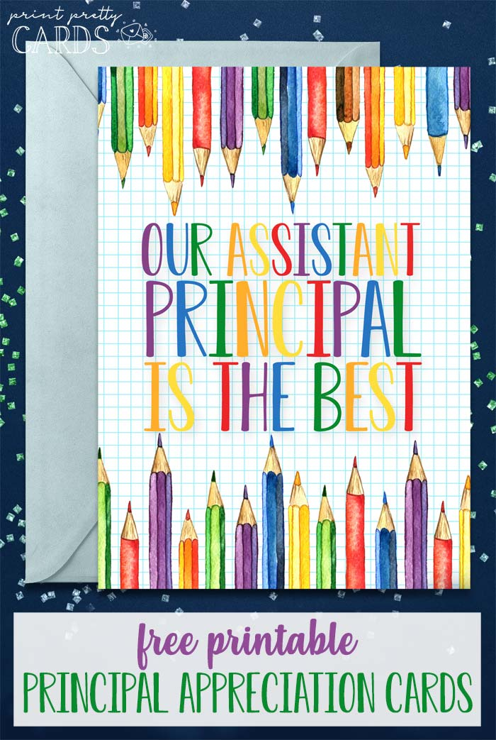 Printable Principal Appreciation Cards