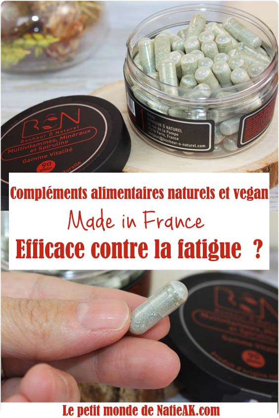 complement alimentaire fatigue concentration