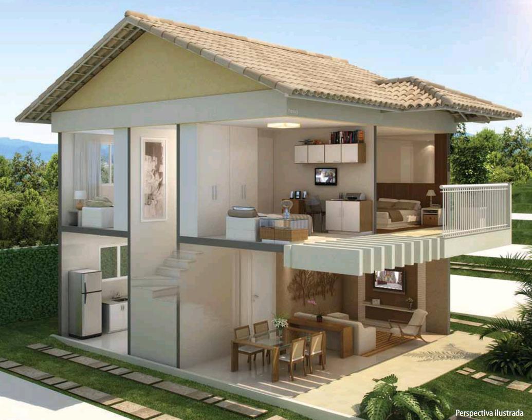 Casas pre fabricadas pre moldadas concreto bh mg contagem for Modelo de casa townhouse