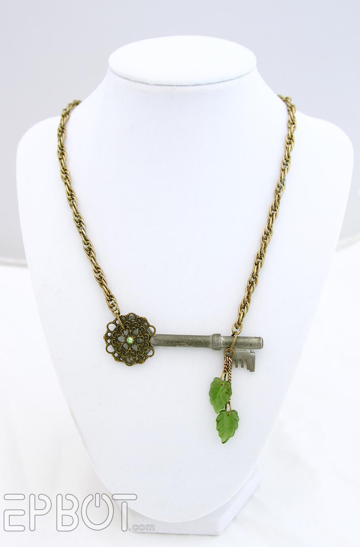 Epbot More Diy Antique Key Necklaces