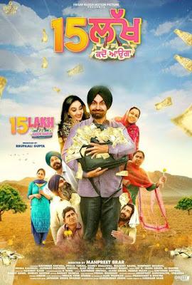 15 Lakh Kadon Aauga 2019 Punjabi 720p WEB HDRip 665Mb HEVC ESub x265